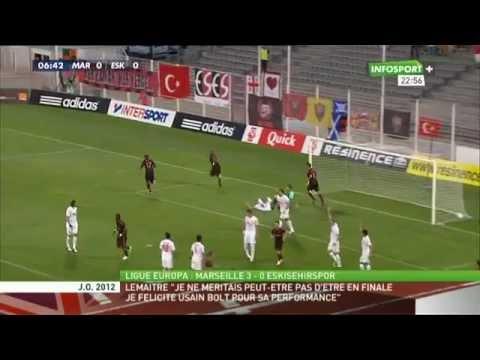 Marseille 3-0 Eskisehirspor (Europa League qual.)