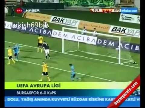 Bursaspor 6-0 KuPS Kuopio (Europa League qual.)
