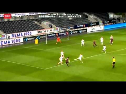 Rosenborg 0-0 Servette (3rd Qualif. Round)