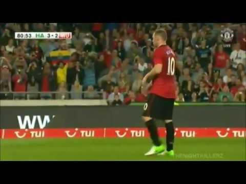 Hannover 3-4 Manchester United