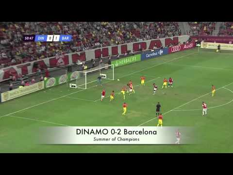 Dinamo Bucuresti 0-2 Barcelona
