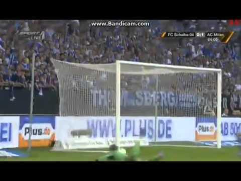Schalke 0-1 AC Milan