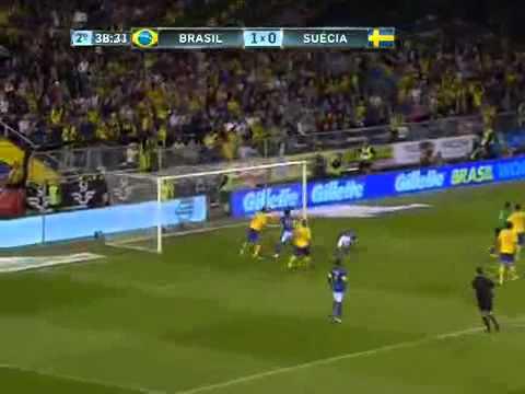 Sweden 0-3 Brazil