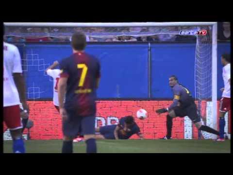 Hamburger SV 1-2 Barcelona