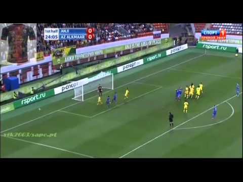 Anzhi 1-0 AZ Alkmaar