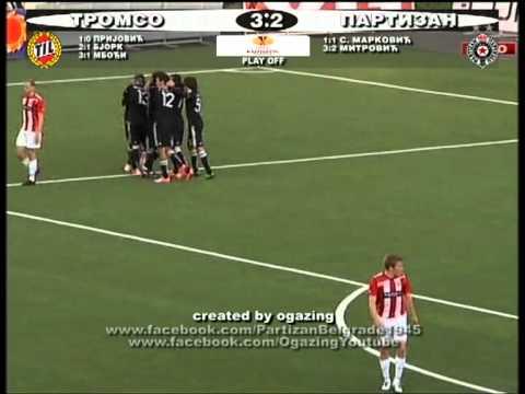 Tromso 3-2 Partizan Beograd