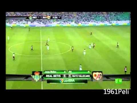 Real Betis 1-2 Rayo Vallecano