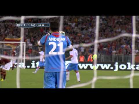 AS Roma 2-2 Catania