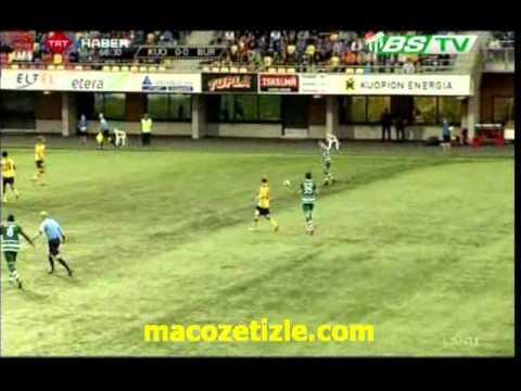 KuPS 1-0 Bursaspor (3rd Qualif. Round)
