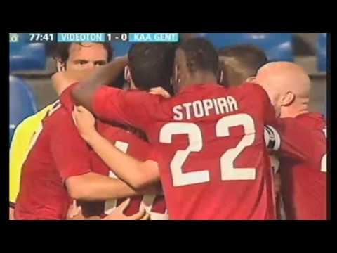 Videoton 1-0 Gent (3rd Qualif. Round)
