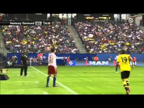 Hamburger SV 0-1 Dortmund (LIGA total! Cup)