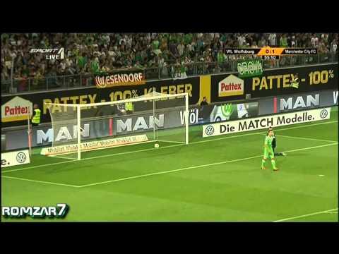 Wolfsburg 0-2 Manchester City
