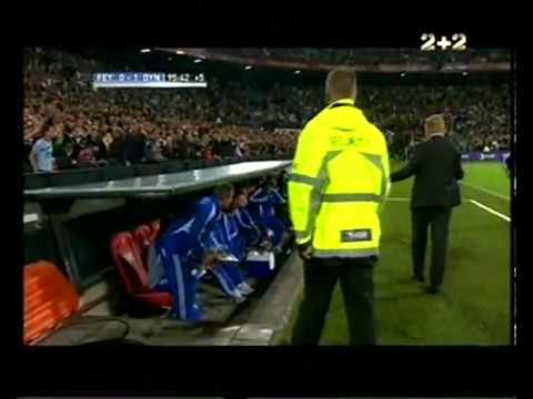 Feyenoord 0-1 Dinamo Kiev (3rd Qualif. Round)