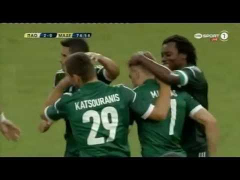 Panathinaikos 3-0 Motherwell (3rd Qualif. Round)