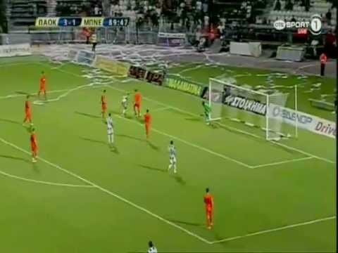 PAOK Thessaloniki 3-1 Yehuda (3rd Qualif. Round)
