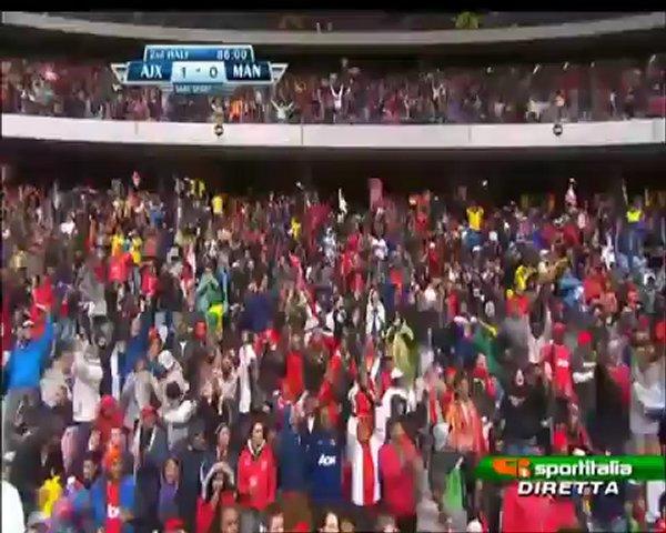 Ajax Cape Town 1-1 Manchester Utd