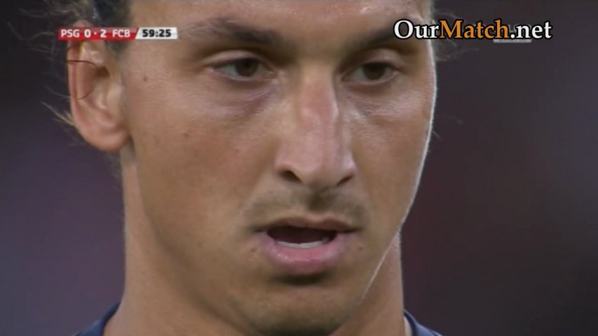 Paris Saint-Germain 2-2 (1-4) Barcelona