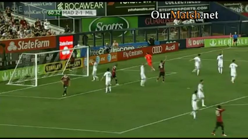 Real Madrid 5-1 AC Milan (World Football Challenge)