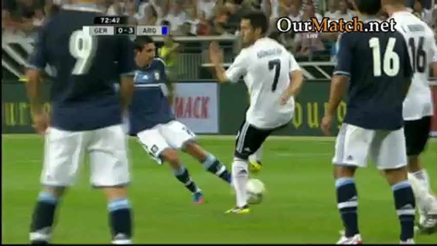 Germany 1-3 Argentina