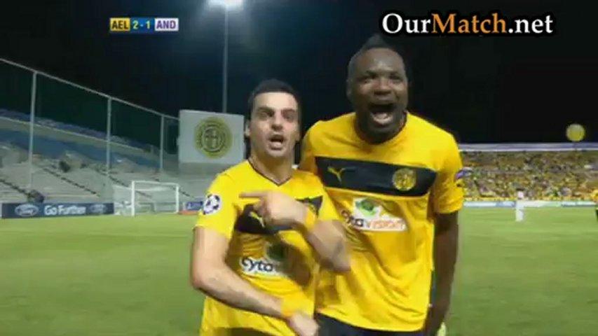 AEL Limassol 2-1 Anderlecht