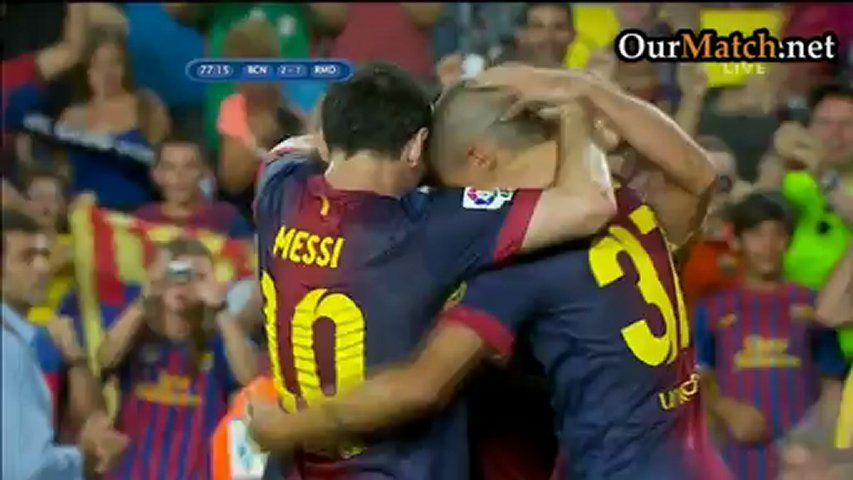 Barcelona 3-2 Real Madrid (First leg)