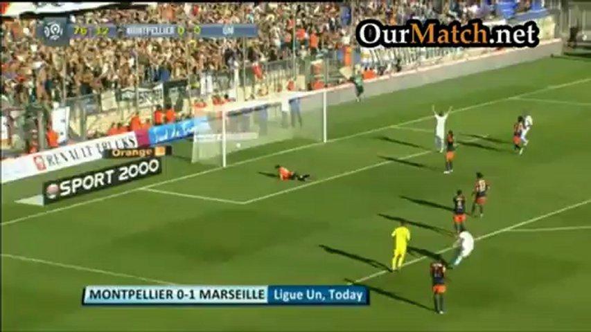 Montpellier 0-1 Marseille