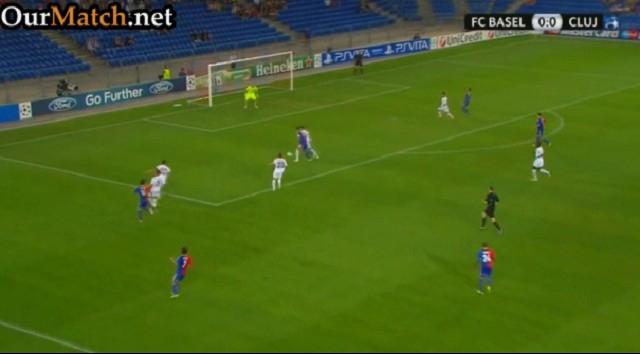 Basel 1-2 CFR Cluj
