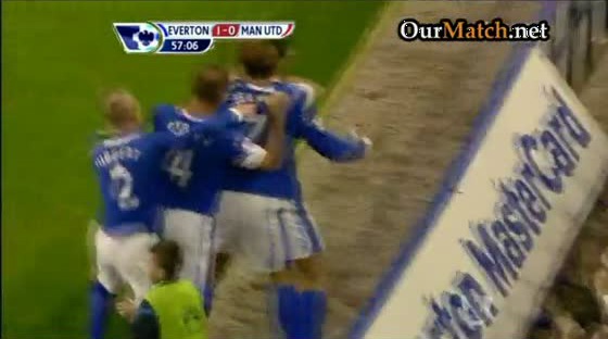 Everton 1-0 Manchester United