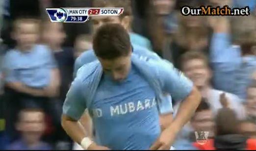 Manchester City 3-2 Southampton