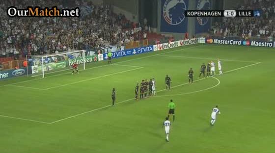 FC Copenhagen 1-0 Lille