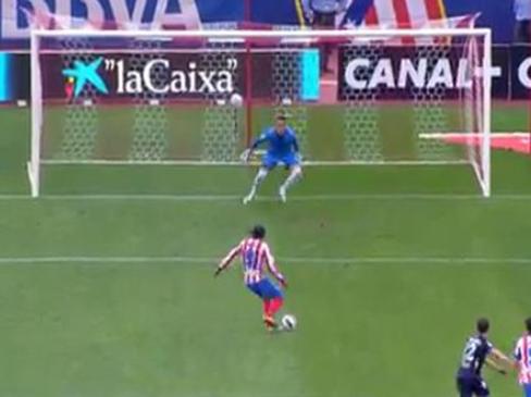 Atletico Madrid 2-1 Valladolid