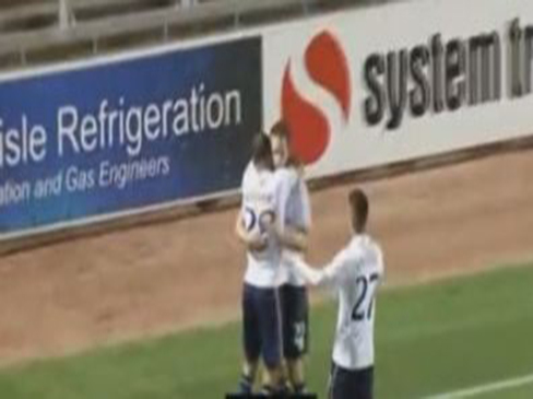 Carlisle 0-3 Tottenham Hotspur