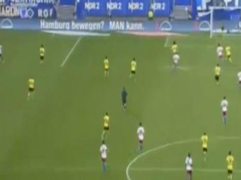 Hamburger SV 3-2 Borussia Dortmund