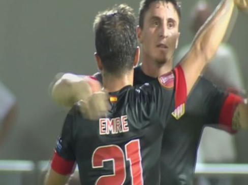 Hapoel Tel Aviv 0-3Atletico Madrid