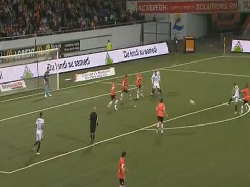 Lorient 1-1 Nice