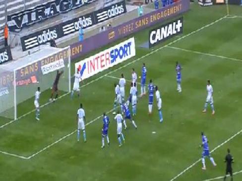 Marseille 1-0 Evian TG