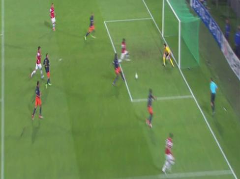 Montpellier 1-2 Arsenal