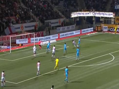 Nancy 0-1 Marseille
