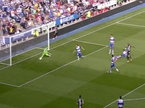 Reading 1-3 Tottenham Hotspur