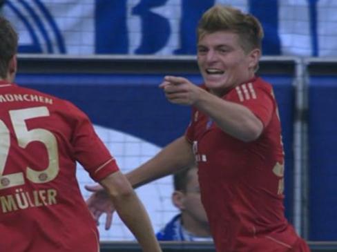 Schalke 0-2 Bayern Munich