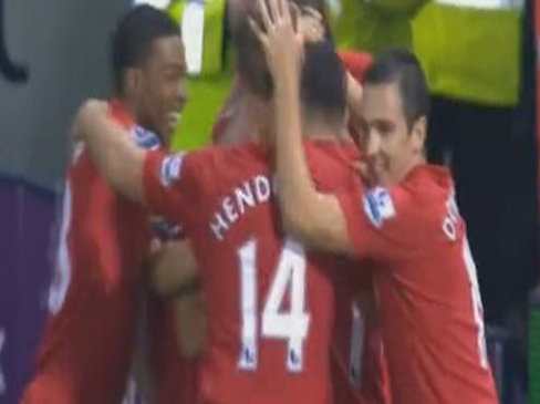 West Brom 1-2 Liverpool
