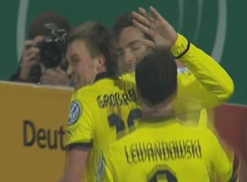VfR Aalen 1-4 Borussia Dortmund
