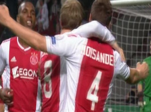 Ajax 3-1 Manchester City