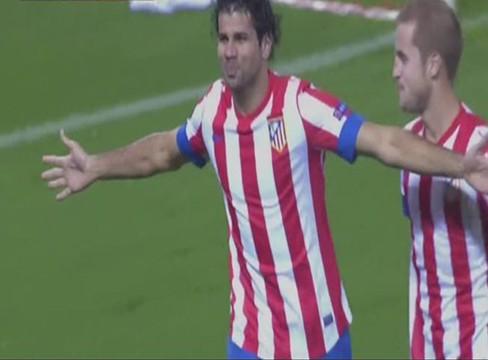 Atletico Madrid 2-1 Academica