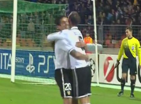 BATE Borisov 0-3 Valencia