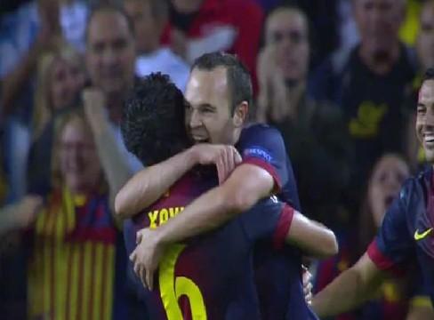 Barcelona 2-1 Celtic