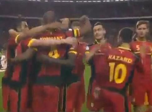 Belgium 2-0 Scotland