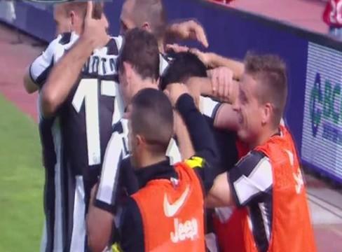 Catania 0-1 Juventus
