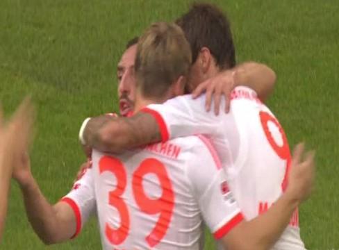 Fortuna Dusseldorf0-5 Bayern Munich