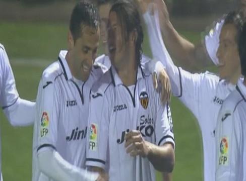 Llagostera 0-2 Valencia
